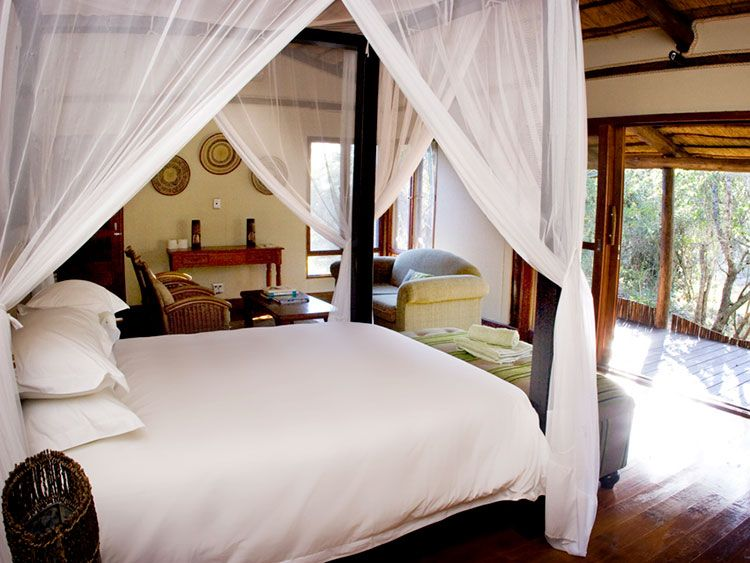 Ihlozi Bush Lodge Bedroom